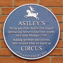 Astley's first venue