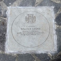 Walter Stone VC
