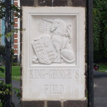 King George's Field - SE16 - unicorn