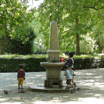 Jabez West fountain