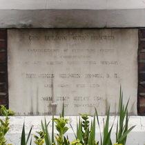 Brixton Independent Church - foundation stone