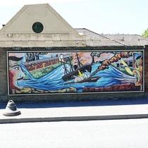Princess Alice Disaster - mural