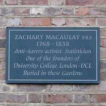 Zachary Macaulay - WC1