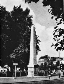 St George's Obelisk - lost