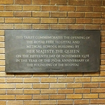Royal Free Hospital and Medical School Opening
