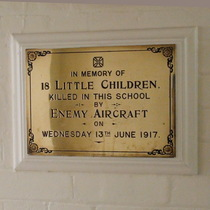 Upper North Street School - plaque 1