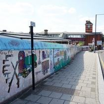Harrow Weald Station mural
