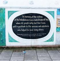 Harrow Weald rail crash - mural panel