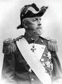 King Oscar II of Sweden and Norway