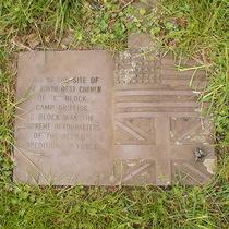 Camp Griffiss, Block C, NW corner