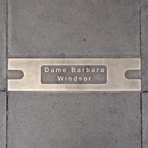 Hackney Empire pavement plaque - Barbara Windsor