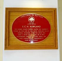 E. C. H. Rowland