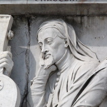 Frieze of Parnassus - Chaucer