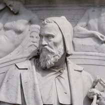 Frieze of Parnassus - Michelangelo - sculptor