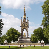 Albert Memorial & The Frieze of Parnassus