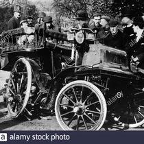 Sewell's Daimler car
