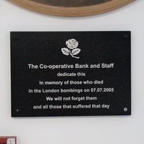 Co-op Bank - bombs 7/7