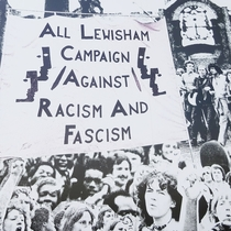 Battle of Lewisham - mural