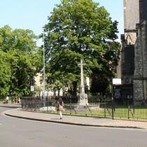 St Marys Stoke Newington war memorial