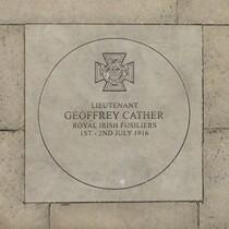 Lieutenant Geoffrey Cather VC