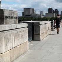 Waterloo Bridge + Strand underpass