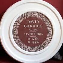 Lost Garrick plaque
