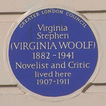 Virginia Woolf - Fitzroy Square