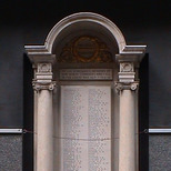 Western Postal District war memorial - Rathbone Place