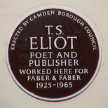 T. S. Eliot - WC1
