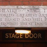 Palace Theatre - stage door