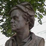 William Hogarth bust