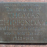 Chippendale workshop
