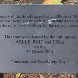 Railway deaths