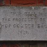 Burdett-Coutts' wall - B