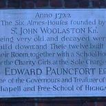 Pauncfort Alms Houses