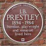 J B Priestley