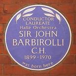 Sir John Barbirolli - Southampton Row