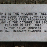 Millionth Tree - Victoria Embankment Gardens