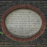 St James's war damage