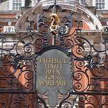 World War 1 gates at BMA