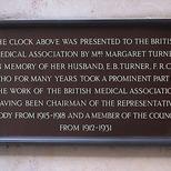 Clock at BMA