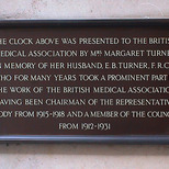 Clock at BMA