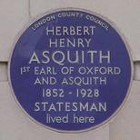 Herbert Asquith - W1