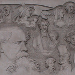 Charles Dickens relief