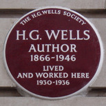 H G Wells - Baker Street