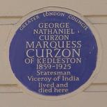 Curzon plaque