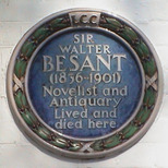 Sir Walter Besant - Frognal Gardens