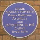Margot Fonteyn & J. du Pre