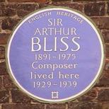Sir Arthur Bliss