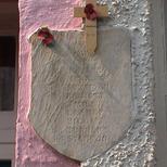 WW1 plaque in College Lane